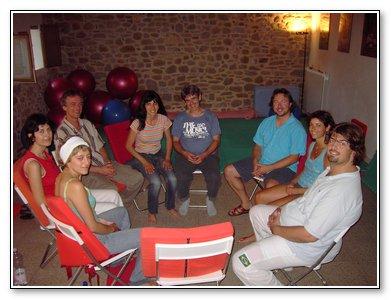 healing circle in Italy