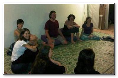 healing circle in Israel